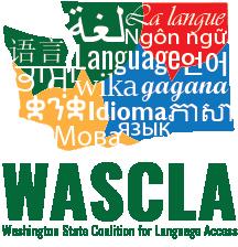 Washington State Coalition for Language Access logo